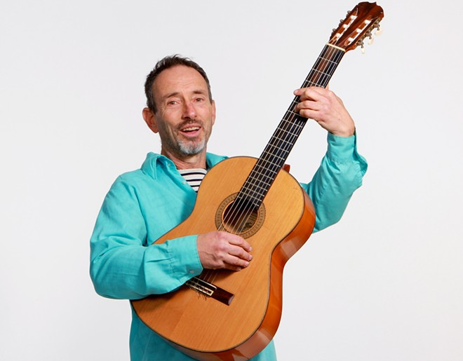 Jonathan Richman headlines at The Bartlett on Thursday