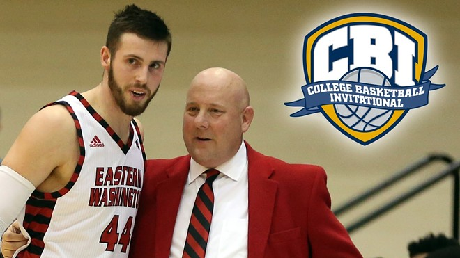 Coach Jim Hayford leads his team into the CBI tournament and a home game Wednesday against Pepperdine. - EASTERN WASHINGTON ATHLETICS