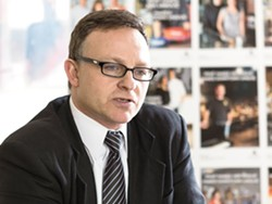 DSP President Mark Richard - STEPHEN SCHLANGE