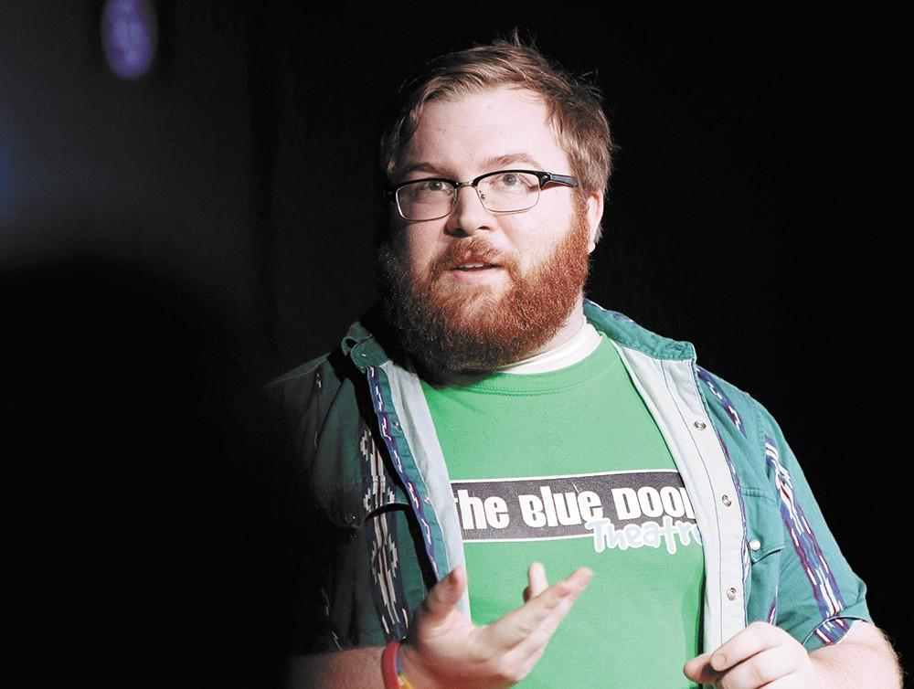Blue Door actor Josh Scheel - YOUNG KWAK