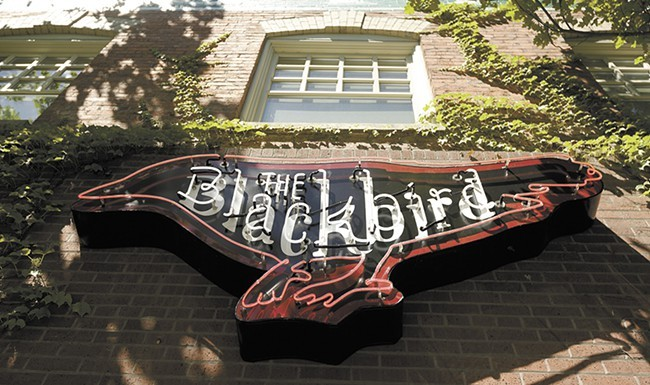 "The Blackbird Tavern & Kitchen's ""happier hour"" runs Mon-Fri and Sunday. - YOUNG KWAK PHOTO"