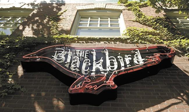 "The Blackbird Tavern & Kitchen's ""happier hour"" runs Mon-Fri and Sunday. - YOUNG KWAK PHOTO"