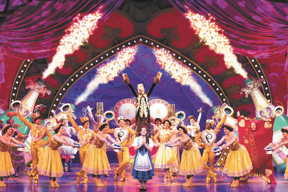 Beauty and the Beast arrives in Spokane Tuesday.