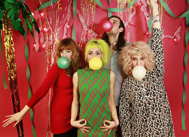 Tacocat headlines this weekend's KAZZUFEST in Pullman.