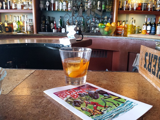This Old Fashioned at Bon Bon didn't last long after posing for this picture. - DAN NAILEN