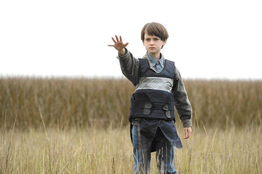 Jaedon Lieberher stars as a boy with amazing powers in Midnight Special.