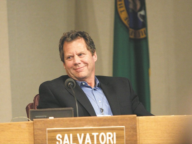 Former Spokane City Councilman Steve Salvatori had been a staunch critic of the growth of the city council's role and budget.
