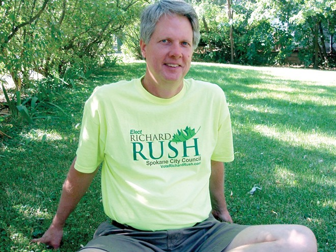Richard Rush, Candace Mumm's legislative assistant, was fired on March 31