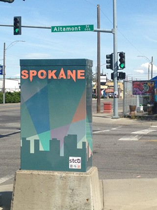 Galina Dashkovska's art is at Sprague and Altamont. - SPOKANE ARTS