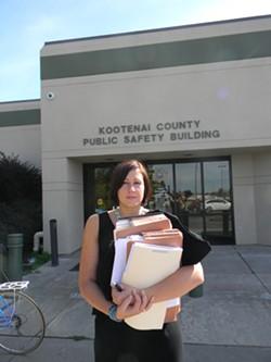 Lisa Chesebro, a Kootenai County public defender, has caseloads well above national standards. - JAKE THOMAS