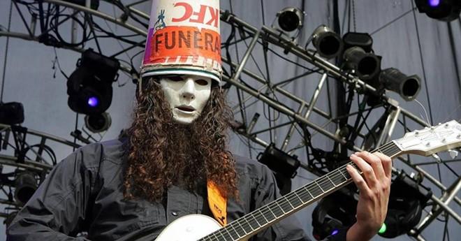 Guitarist Buckethead headlines The Bing July 11.