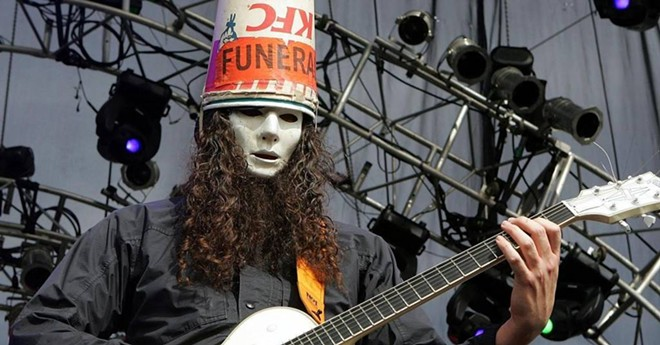 Guitarist Buckethead headlines The Bing July 11.