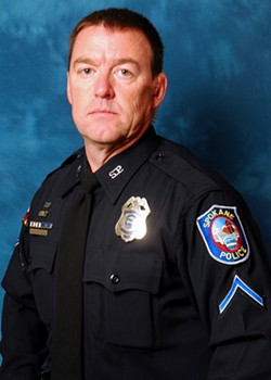 Sgt. John Gately was charged with obstructing the investigation into another SPD sergeant's rape of a female officer.