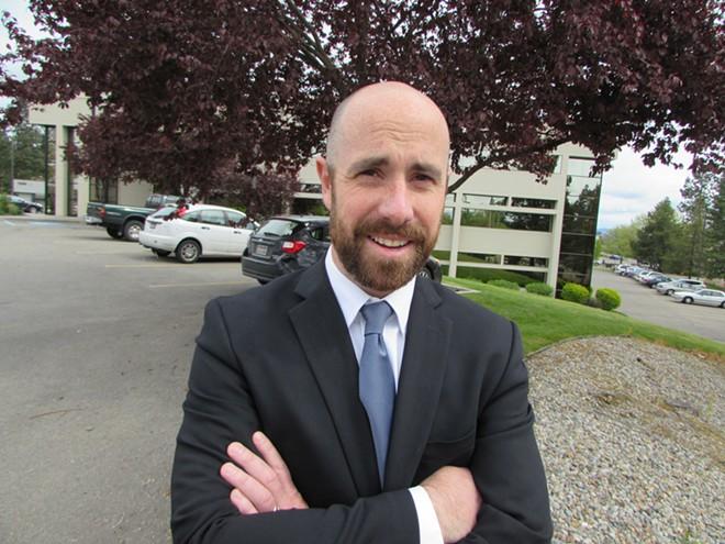 Rep. Luke Malek crushed it, despite opposition from the Idaho Freedom Foundation - DANIEL WALTERS PHOTO