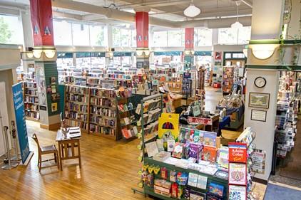 Inside Auntie's Bookstore. - SPOKANELIBERTYBUILDING.COM