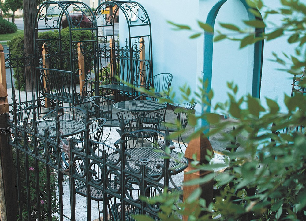 Picture yourself enjoying a meal in the great outdoors; Ruins added a 20-seat patio this spring. - KRISTEN BLACK