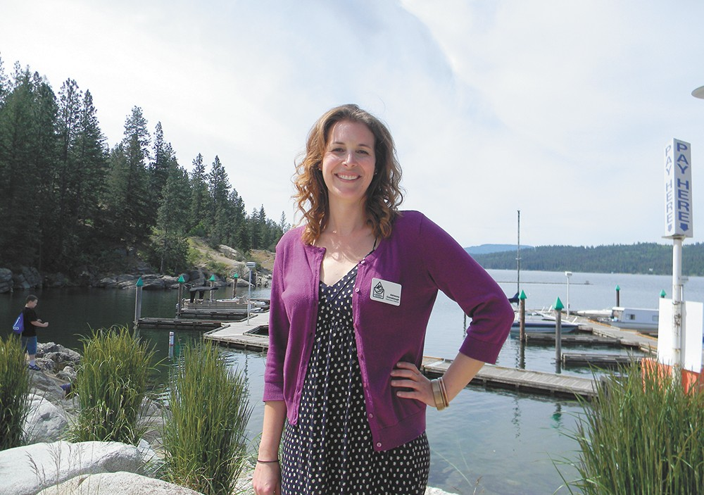 Adrienne Cronebaugh, Kootenai Environmental Alliance executive director, worries that human actions are adversely affecting the lake's chemistry. But her concerns aren't universally shared. - JAKE THOMAS