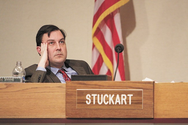 If Ben Stuckart becomes mayor, that means we'll be able to keep using this Irritated Ben Stuckart picture well into 2023!