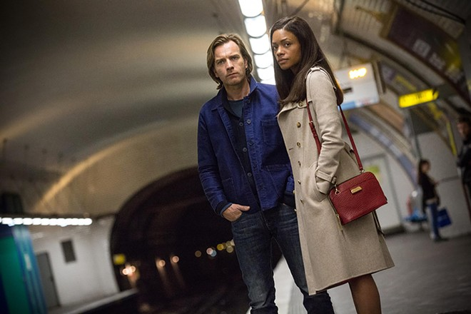 Ewan McGregor and Naomie Harris play a couple who are sucked into a complex game of international banking hide-and-seek in Our Kind of Traitor