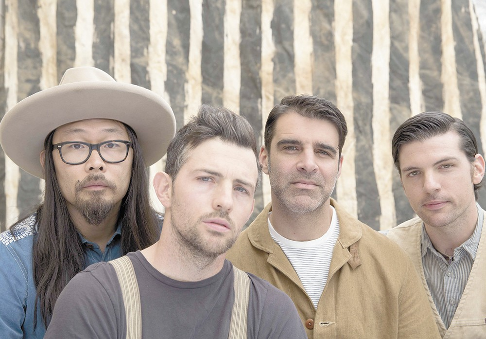 The Avett Brothers just landed their first overall No. 1 on the Billboard charts.