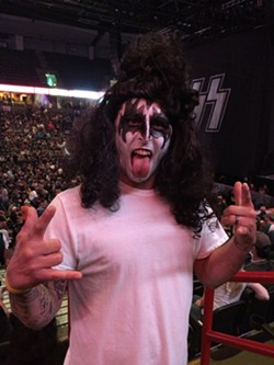 KISS fan Dave Thormahlen was one of the few who was unafraid to go big.