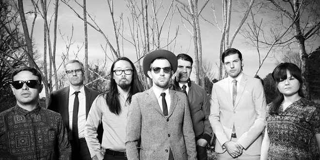 The seven-piece Avett Brothers band sounds like they've been making music together since birth.