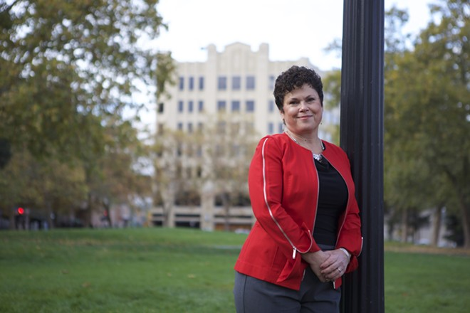 Laura McAloon, the mayor's appointment for city attorney, says the frustration she experienced as part of a city committee inspired her desire to improve council-city communication. - PHOTO COURTESY OF WORKLAND & WITHERSPOON
