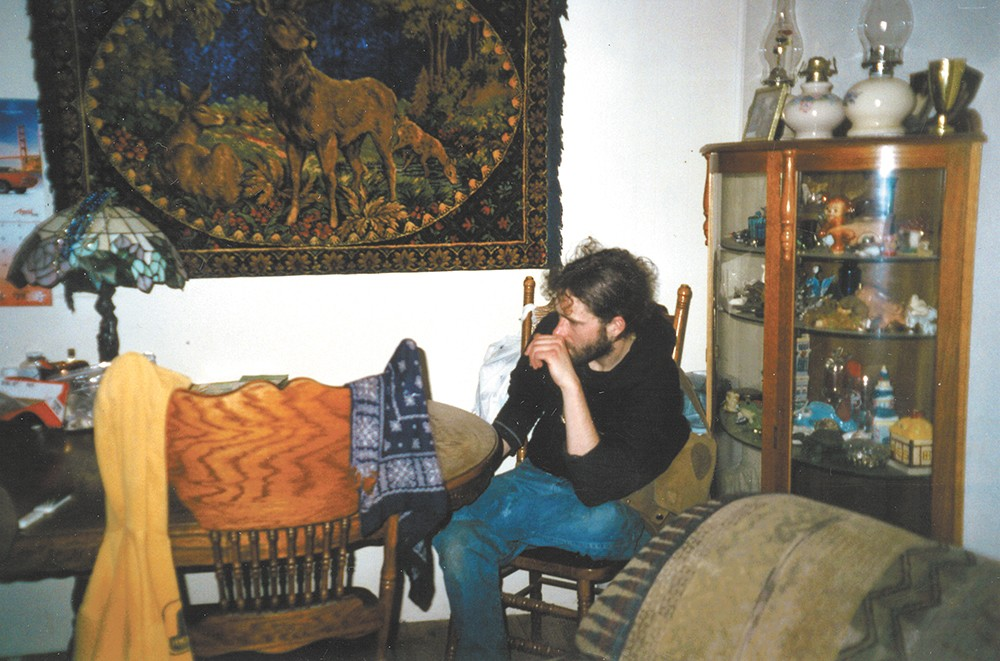 A recent photo of Alexander Maier at his father's home.