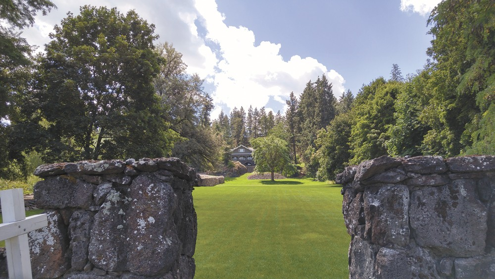 The sprawling Wilbur-Hahn estate boasts a colorful and spooky past. - ISAAC HANDELMAN