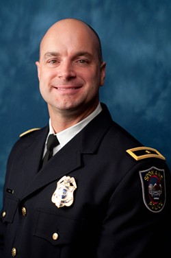 Just-appointed Police Chief Craig Meidl told Cappel his integrity left him little choice but to demote himself to avoid supporting Straub's untruths - SPD PHOTO
