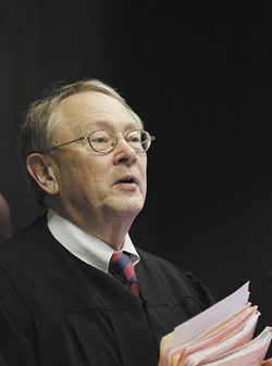 Judge Gregory Tripp has been on the bench for nearly 20 years. He has not decided whether he'll run for re-election in 2018. - YOUNG KWAK