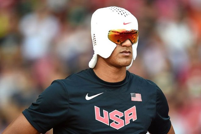 Just one piece of sport tech you might see at the 2016 Olympic Games. This piece is a head-cooling hood designed by Nike for decathlon competitor Ashton Eaton. - NIKE