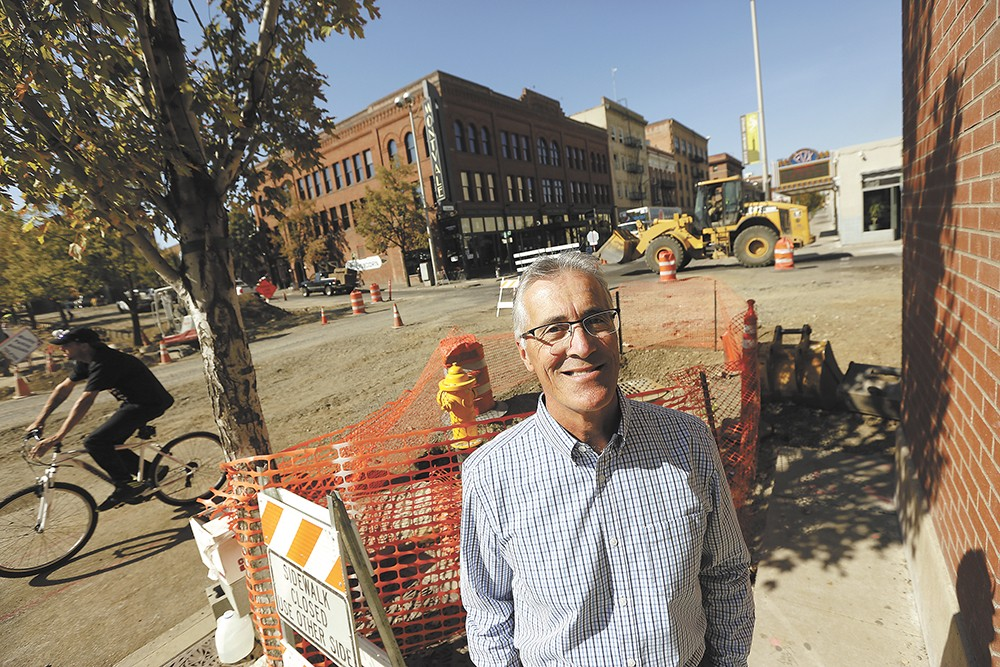 Former Utilities Director Rick Romero helped create the city's revolutionary plan to improve the streets, clean up the river and save money. - YOUNG KWAK
