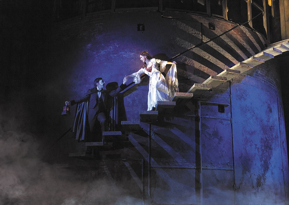 Phantom of the Opera is coming to town as part of the Best of Broadway series. - MATHEW MURPHY