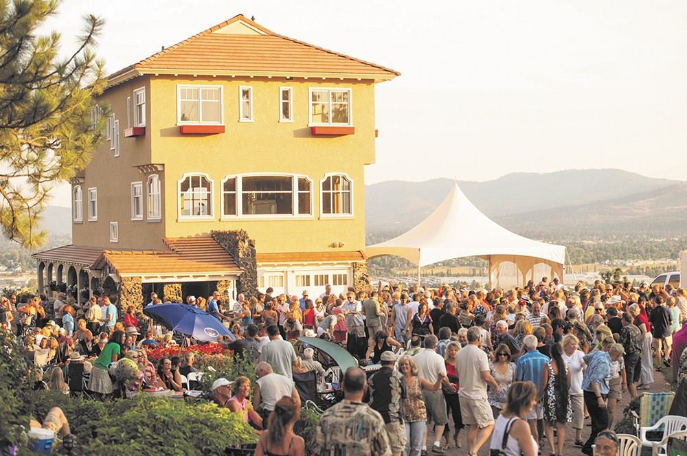 The summer concert series lend to the appeal of Arbor Crest Wine Cellars.