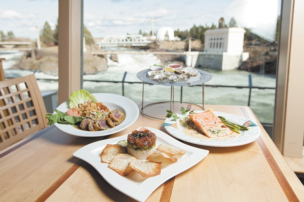 Anthony's is favored by Inlander readers for its food and views. - YOUNG KWAK