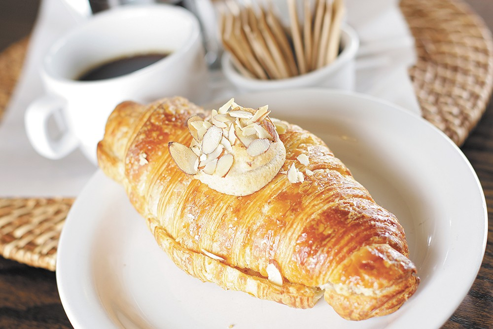 Petit Chat makes all of its croissants from scratch. - YOUNG KWAK