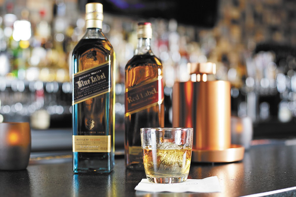 One of Spokane's newest whiskey bars, Table 13, stocks more than 50 whiskeys. - YOUNG KWAK