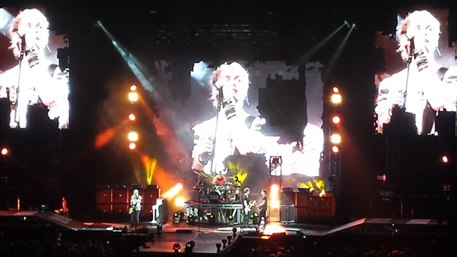 5 Seconds of Summer at the Spokane Arena Tuesday night.