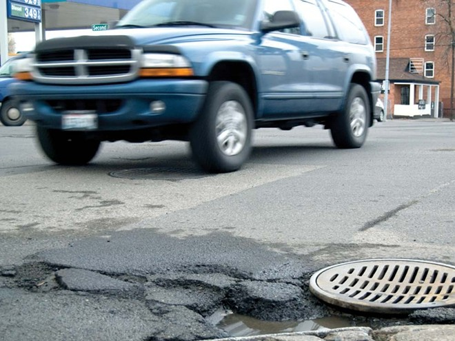 Spokane is on the way to fixing these pesky potholes