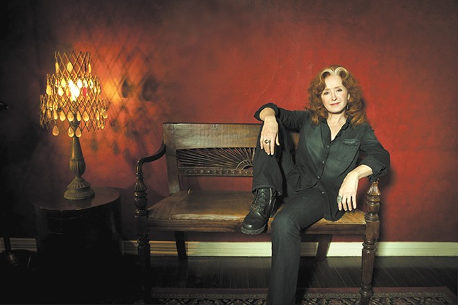 Bonnie Raitt continues to give us something to talk about. - MARINA CHAVEZ PHOTO