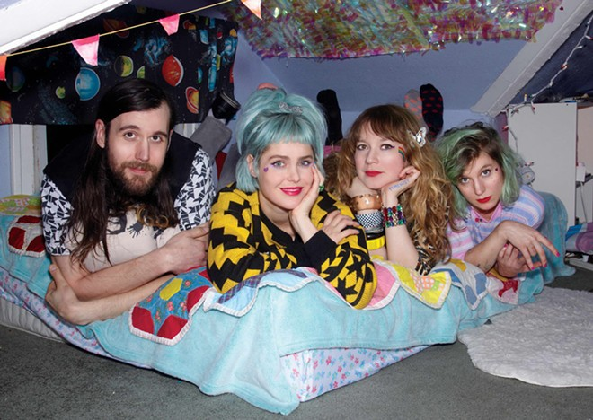 Tacocat headlines a show in Spokane Tuesday.