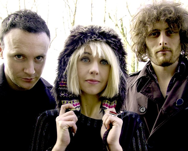 Welsh power-trio The Joy Formidable play Tuesday at the Knitting Factory.