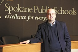 Steven Gering, Spokane Public Schools chief academic officer - YOUNG KWAK