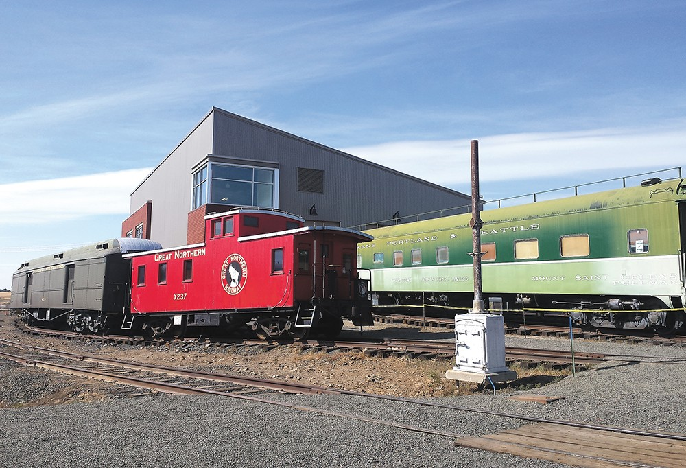 The new museum features trains dating back to the early 1900s. - DAN NAILEN