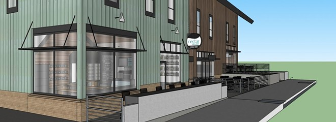 An artist's rendering of Nectar's new South Perry spot. - HDG ARCHITECTURE RENDERING
