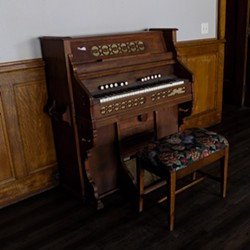 Piano at Ella's Theater - EMILY GOODELL