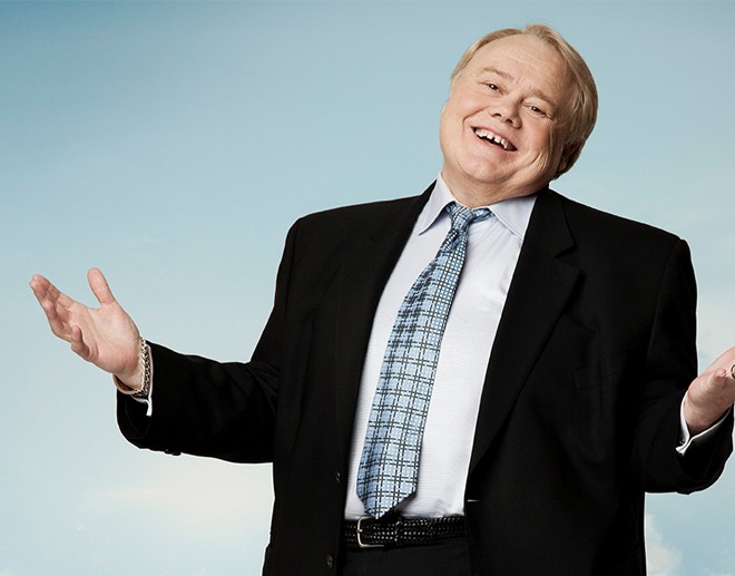 Louie Anderson headlines The Bing on March 30.