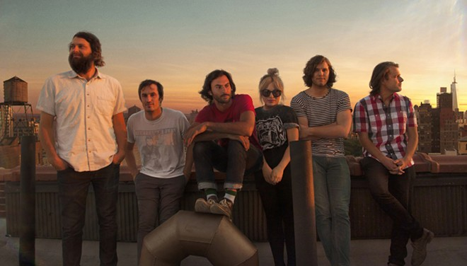 The Head and the Heart headline the INB Performing Arts Center Monday night.
