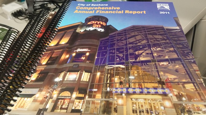 The city of Spokane's 2015 financial statements had significant errors, but the state auditor caught them before they were published. - DANIEL WALTERS PHOTO